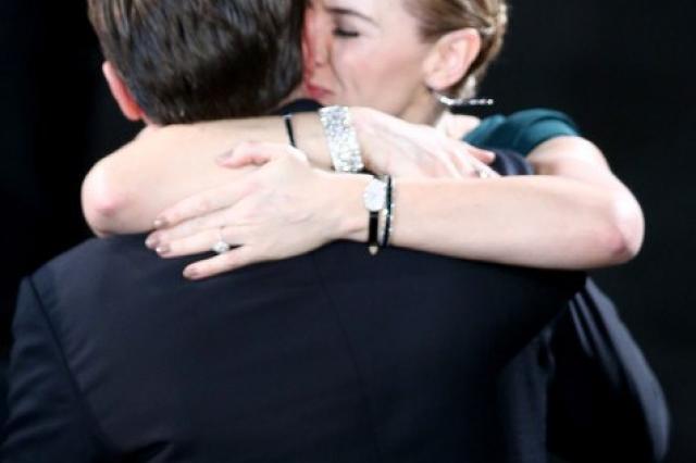 Леонардо Ди Каприо и Кейт Уинслет на церемонии SAGAwards2016