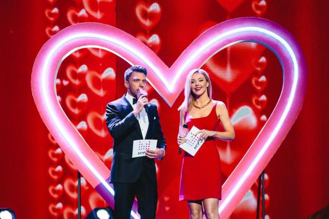 Праздник для всех влюбленных на «МУЗ-ТВ»
