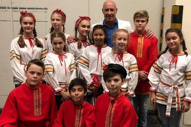 «Домисольки» выступили сразу в шести номерах фестиваля «Белая трость»
