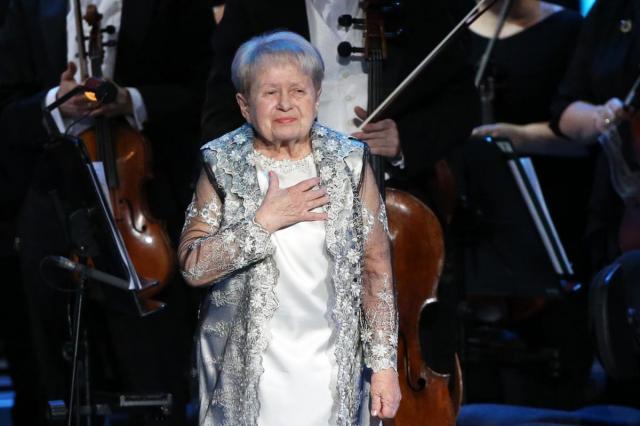 Юбилейный концерт Александры Пахмутовой в Большом театре