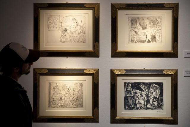"""Серия графических работ Пикассо """"Сюита Воллара"""" продана с аукциона за €1,9 млн"""