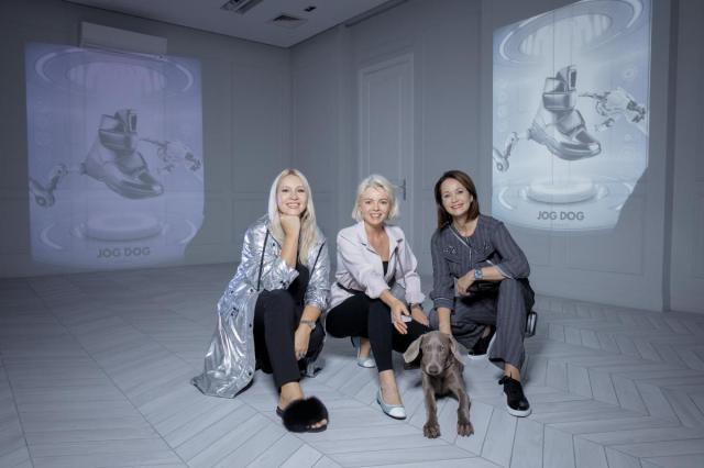 Просто космос: звездные гости на презентации коллекции обуви Jog Dog FW 2019-2020
