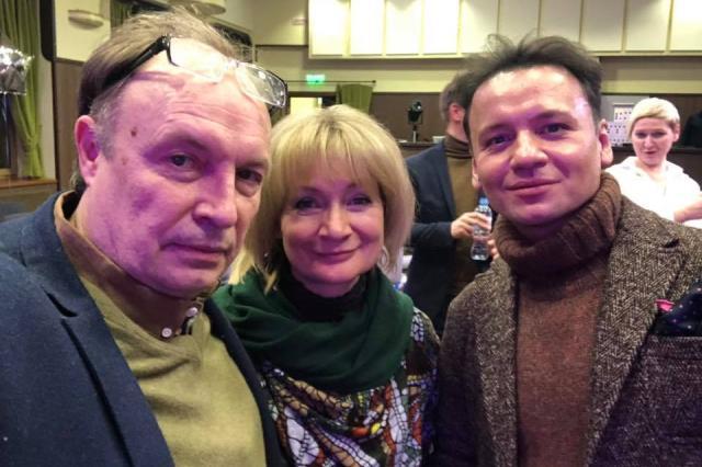 Александр Олешко провёл мастер-класс в театре «Домисолька»
