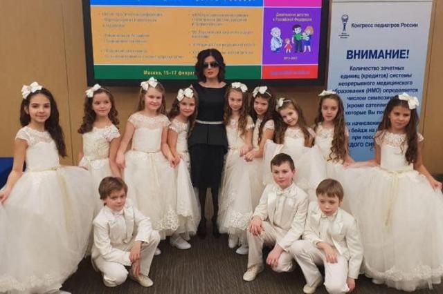 «Домисолька»  на открытии форума «Волонтеры-медики - детям России»
