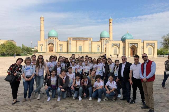 «Домисолька» в Узбекистане!