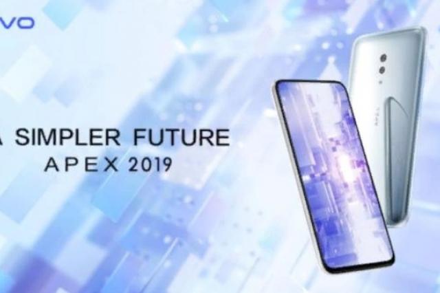 Vivo представляет APEX 2019 – новый футуристический 5G концепт-смартфон
