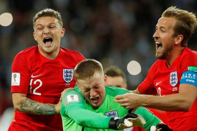 Счастливый билет для «трёх львов»: Англия обыграла Колумбию в серии пенальти и пробилась в четвертьфинал ЧМ-2018