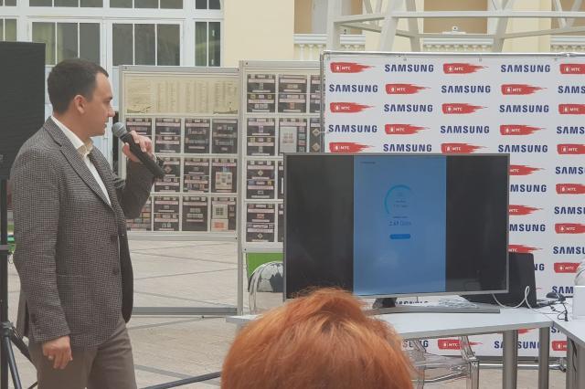 МТС и Samsung показали работу сети 5G в реальных условиях