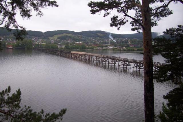 В Белорецке обрушился один из самых длинных деревянных мостов в России, запечатлённый в фильме «Вечный зов»