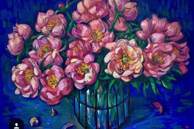 «История любви» художника нео-экспрессиониста Иннокентия Баранова