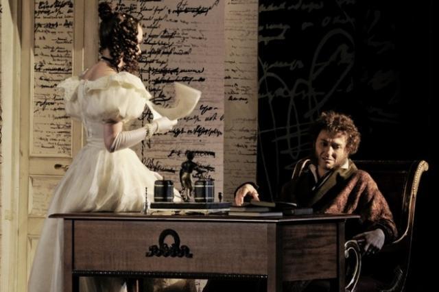 Спектакль «Пушкин» в Московском Губернском театре:  «Что в мой жестокий век восславил я свободу!»