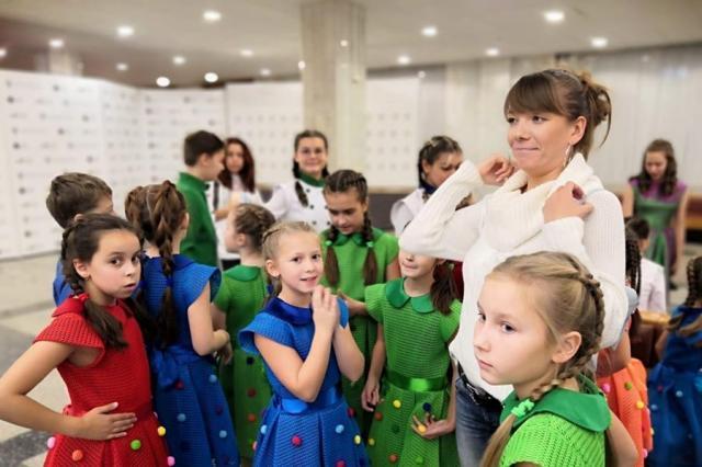 «Домисолька» выступила с сольной программой «Поют правнуки Победы» в Музее Победы