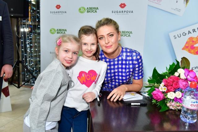 Мария Шарапова презентовала в «Азбуке Вкуса» премиальный шоколад SUGARPOVA