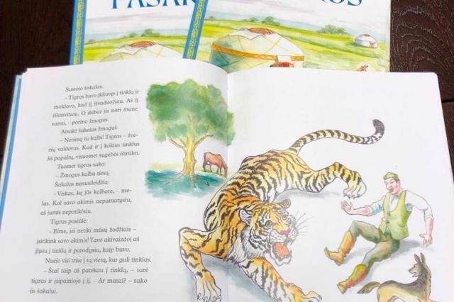 В Вильнюсе изданы казахские сказки на литовском языке