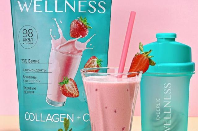 Источник энергии и максимальной пользы для организма с минимальным количеством калорий: протеиновые коктейли Wellness от Faberlic
