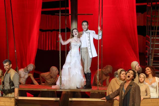 Новый сезон «Алых парусов» - великая история любви в мюзикле Максима Дунаевского