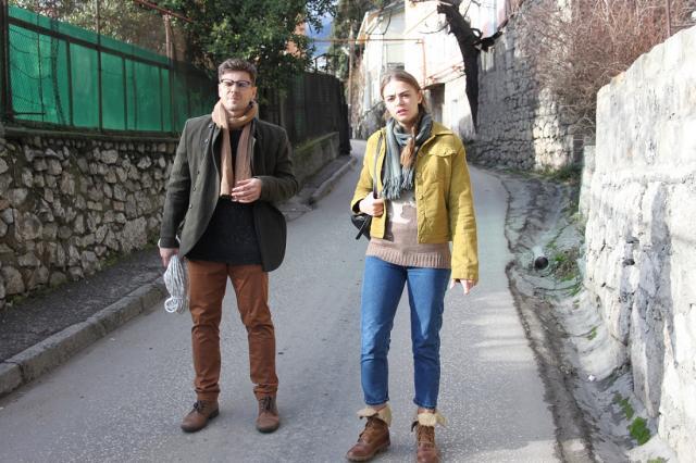 Кирилл Запорожский и Дмитрий Миллер в премьере мелодрамы «Хороший день»