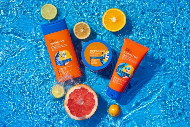 Подари волосам летнее настроение: линия Expert Summer Care от Faberlic