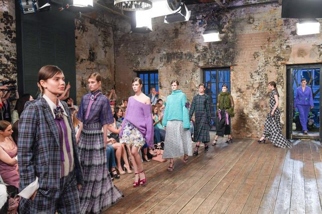 Показ новой коллекции Evgeniya Kryukova Couture