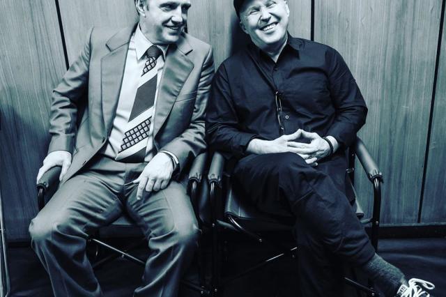 «Чемпион мира»: Алексей Сидоров и Владимир Вдовиченков вновь встретились на съёмках спустя двадцать лет после «Бригады»