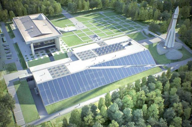 Новое здание музея истории космонавтики в Калуге позволит принять до полумиллиона посетителей в год