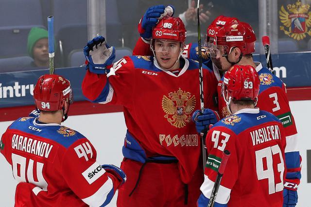 Национальная сборная России - победитель Кубка Карьяла
