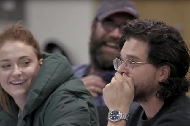 Реакция узнавших финал «Игры престолов» актеров сериала попала на видео