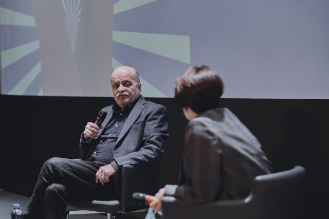 Александр Миндадзе поговорил со зрителями о своем новом фильме «Паркет»