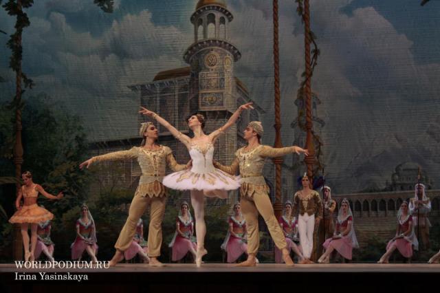 Великолепный балет «Баядерка»