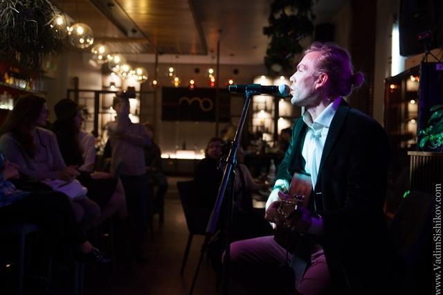В RestBar MO прошел концерт российского музыканта Миши ЛУЗИНА