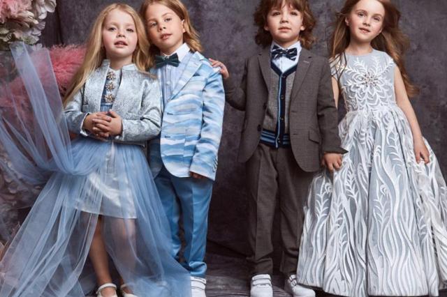 Дети Аллы Пугачевой и Максима Галкина примерили королевские наряды в съемке для Valentin Yudashkin