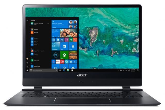 Самый тонкий ноутбук в мире Acer Swift 7 теперь в России