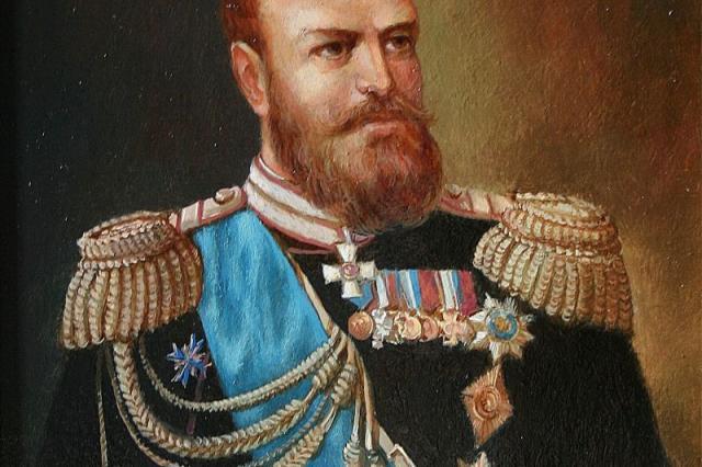 Валентина Матвиенко и Ольга Любимова осмотрели выставку «Александр III Миротворец