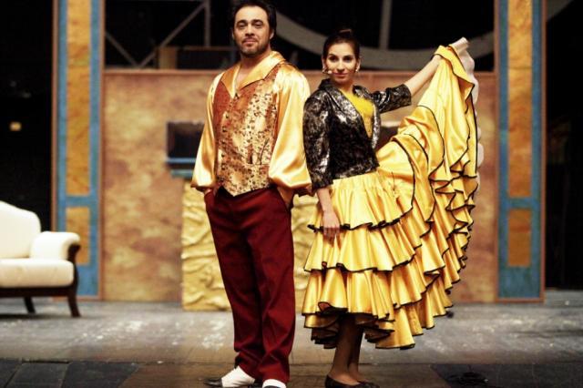 Премьера спектакля «Бриллианты и любовь» в Московском музыкально-драматическом цыганском театре «Ромэн»