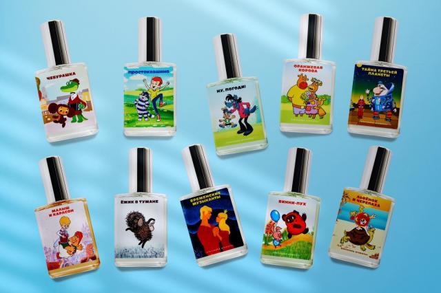 В «Союзмультпарке» представят парфюм, который перенесет в атмосферу любимых мультфильмов