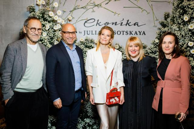«Эконика» и актриса Юлия Высоцкая презентовали капсульную коллекцию обуви и аксессуаров
