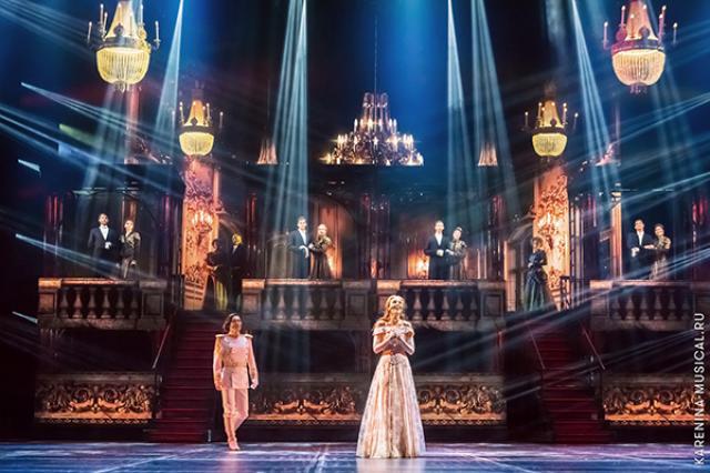 Популярный российский мюзикл «Анна Каренина» открывает новый сезон