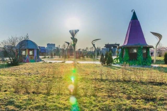 Открытие первого парка волшебства и отдыха «Skazka»