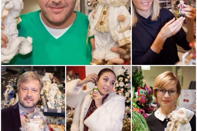 Звезды нарядили благотворительные ёлки для акции «Азбуки Вкуса» и Фонда «Подари Жизнь»