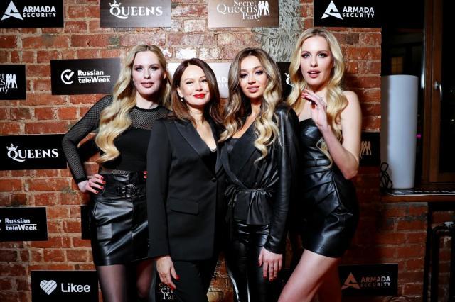 Secret Queens Party:Пригожин, Natan и Иншаков оказались во власти женщин
