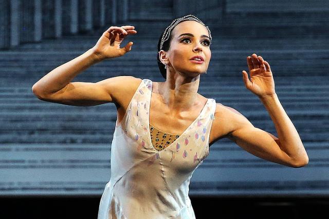 Министр культуры РФ наградил балерину Диану Вишнёву высшей ведомственной наградой