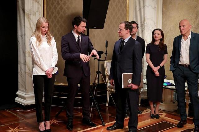 Встреча Президента России со съёмочной группой фильма «Викинг»