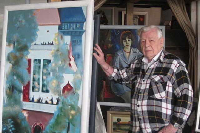 Александр Лукашенко поздравил народного художника республики Леонида Щемелева