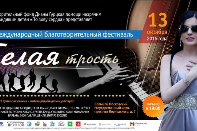 VII Международный благотворительный фестиваль «Белая трость»