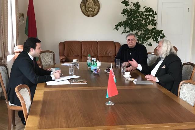 Белорусский дипломат встретился с директором Национального музея Лихтенштейна
