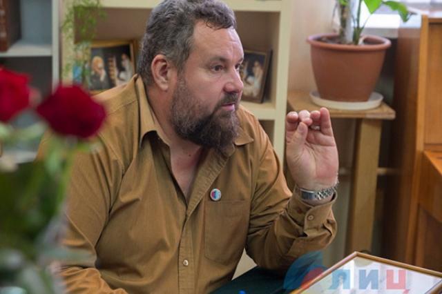 Руководитель Союза писателей ЛНР провел свой бенефис