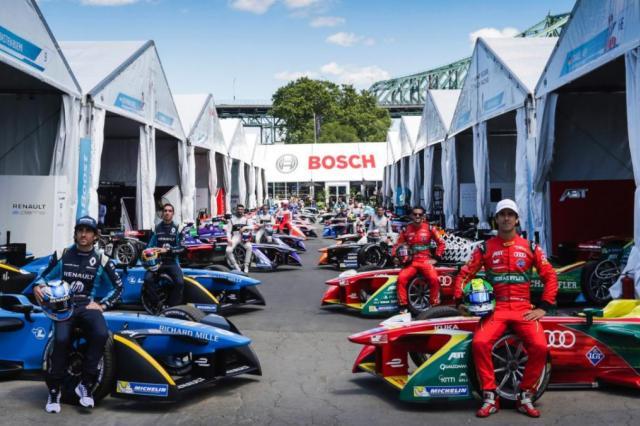 Bosch стала официальным спонсором чемпионата ABB FIA Формулы E