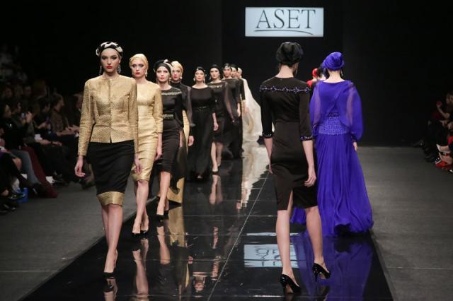 Модный дом ASET представил коллекцию «Принцесса Востока»