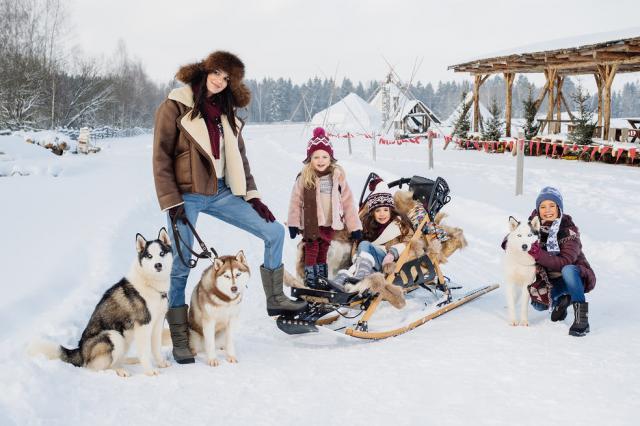 Путешествие в сказочную зимнюю страну в обуви Skandia