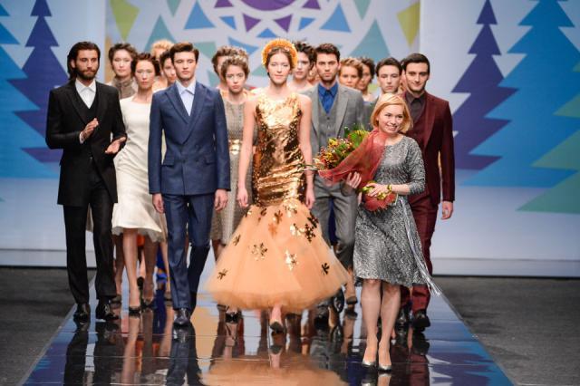 Vera Kostyurina представила коллекцию осень-зима 2015/2016 в Гостином дворе